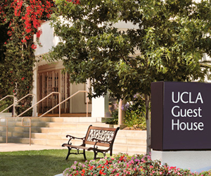 Exterior of UCLA Guest House