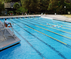 UCLA's Sunset Canyon Recreation Center Pool
